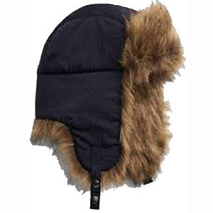 2c590df1f9ddc Gap Navy Faux Fur Trapper Bomber Hat